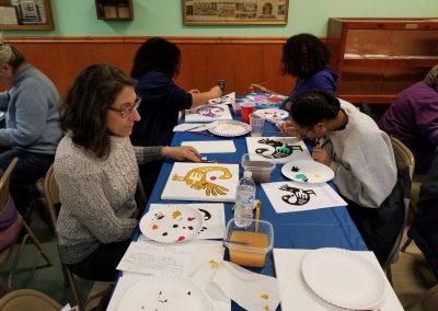Windham Willimantic NAACP 2020 Paint Night