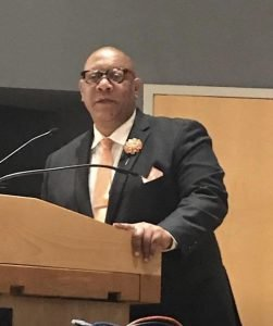 Leadership: Connecticut State President Scot X. Esdaile