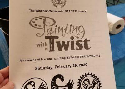 Paint Night Brochure