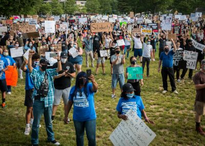 Willimantic George Floyd Rally