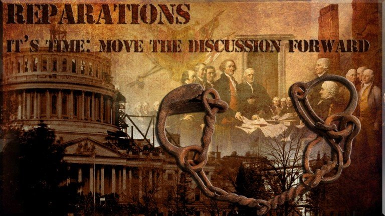 Reparations: It's Time to Move the Discussion Forward; image from Dilemma X