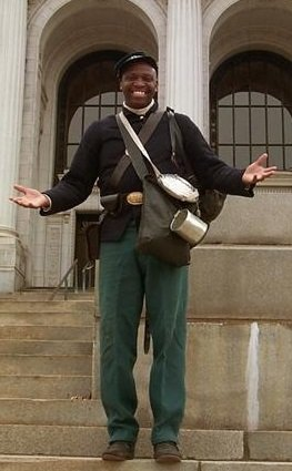 Portrait of Private William Riley Webb